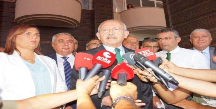 CHP Lideri Kılıçdaroğlu, Kaftancıoğlu'nun cezasını değerlendirdi