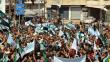 İdlib'de Esad rejimi protesto edildi
