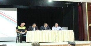 Çerkezköy'de Okul Güvenliği Toplantısı yapıldı