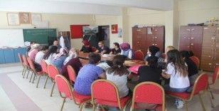 Ağrı Milli Eğitim Müdürü Tekin'den okul ve ilçe ziyaretleri