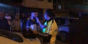 """Alkol muayenesine girmek istemeyen araç sürücüsü """" Ben saygı gören insanlardanım"""""""