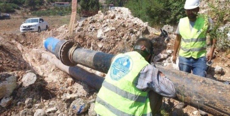 Tarsus'ta isale hattı yenilendi, 20 mahallenin su sorunu çözüldü