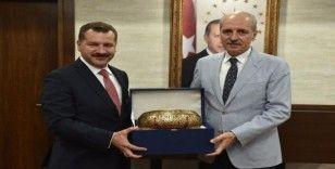 AK Parti Genel Başkan Vekili Kurtulmuş, Valilik ve Belediyeyi ziyaret etti