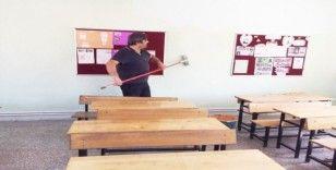 Balya'da okullar eğitim öğretim yılına hazırlandı