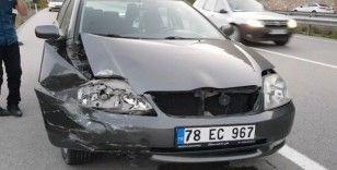 Karabük'te trafik kazası: 1 yaralı