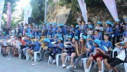 Galata Kulesi Meydanı'nda çocuklardan müzik ziyafeti