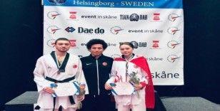 Millilerden Avrupa Ümitler Taekwondo Şampiyonası'nda 2 madalya