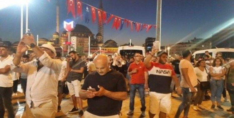 """Taksim Meydanı'nda """"TEKNOFEST"""" rüzgarı"""