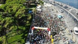 Yüzlerce bisikletli Üsküdar'dan Beykoz'a pedal çevirdi