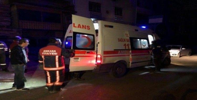 Başkent'te trafoya giren kablo hırsızı ölümden döndü