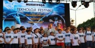 Antalya'nın çocukları Teknoloji Festivalinde buluştu
