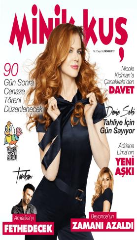 MinikKuş Magazin - Nisan 2017