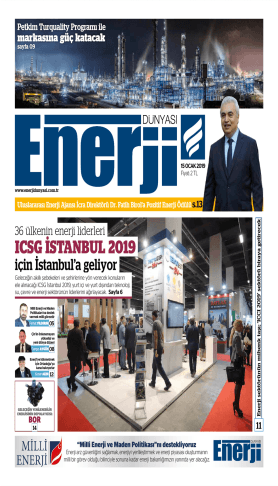 Enerji Dünyası - Ocak 2019