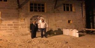 Burhan Kuzu Restorasyonu Devam Eden Tarihi Binada İncelemelerde Bulundu