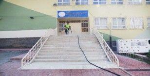 Elazığ'da okullarda temizlik çalışması