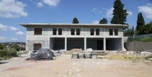 Bağçeşme itfaiye binasının kaba inşaatı tamamlandı