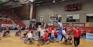 Tekerlekli sandalye basketbolunda Avrupa üçüncülüğü