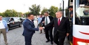 Cumhurbaşkanı Erdoğan'dan Malatya Büyükşehir Belediyesine ziyaret