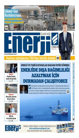 Enerji Dünyası - Temmuz 2019