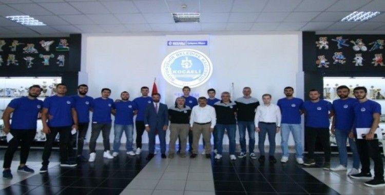 Kağıtspor Erkek Voleybol Takımı'nda imzalar atıld