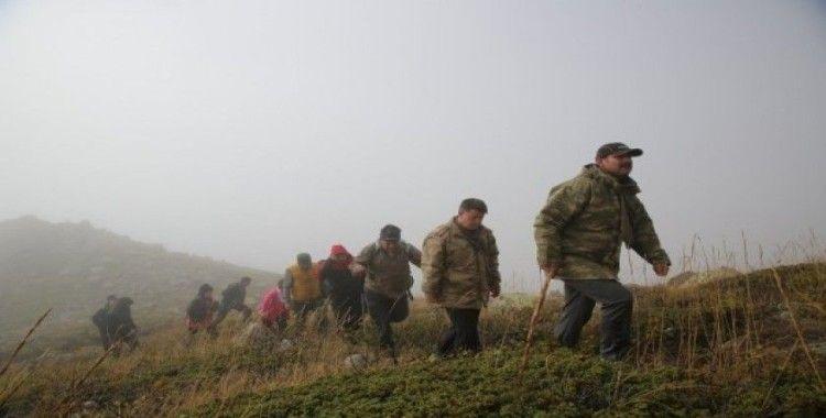 Sivas Kongresi'nin 100. yılı  için Yıldız Dağı'na tırmandılar