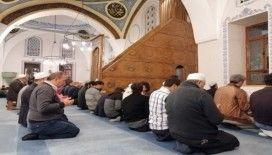 Babalar çocuklarıyla Nasrullah Camii'nde buluştu