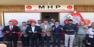 MHP Kale ilçe teşkilatı yeni yerine taşındı