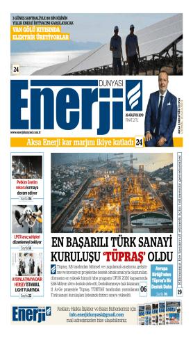 Enerji Dünyası - Ağustos 2019