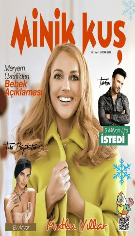 MinikKuş Magazin - Ocak 2017