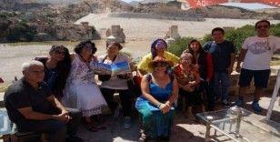 Hasankeyf'e turist akını