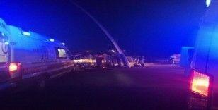 Kırşehir'de kaza: 1 ölü, 4 yaralı