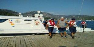 Sahil güvenlikten Hızır Acil hizmeti