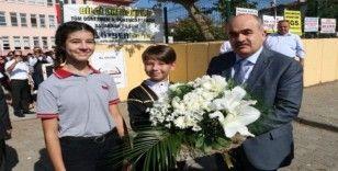 Düzce'de yeni eğitim öğretim yılı törenle başladı