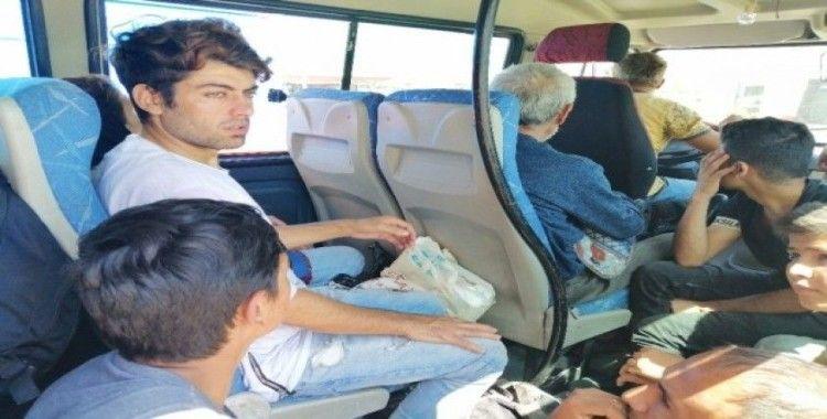 Çanakkale'de 97 mülteci yakalandı