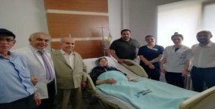 94 yaşında kanseri yendi