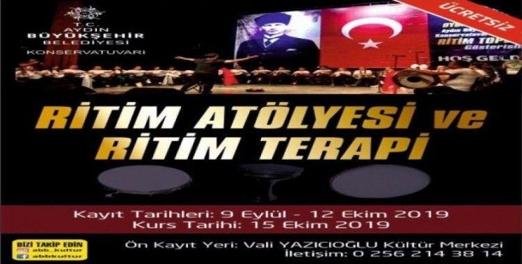 Aydın Büyükşehir Belediyesi Konservatuvarı, kayıtlara başladı