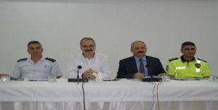 Silifke'de okulların ve öğrencilerin güvenliği masaya yatırıldı