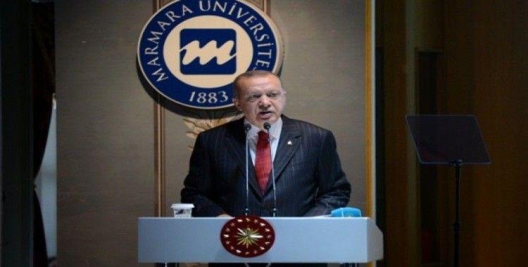 """Cumhurbaşkanı Erdoğan'dan katılım finans modeli çağrısı: """"Yastık altı hareketlenecek"""""""