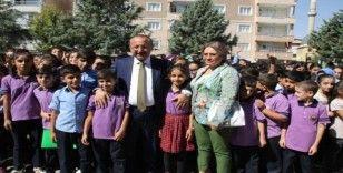 Siirt'te yeni eğitim öğretim yılının ilk ders zili çaldı