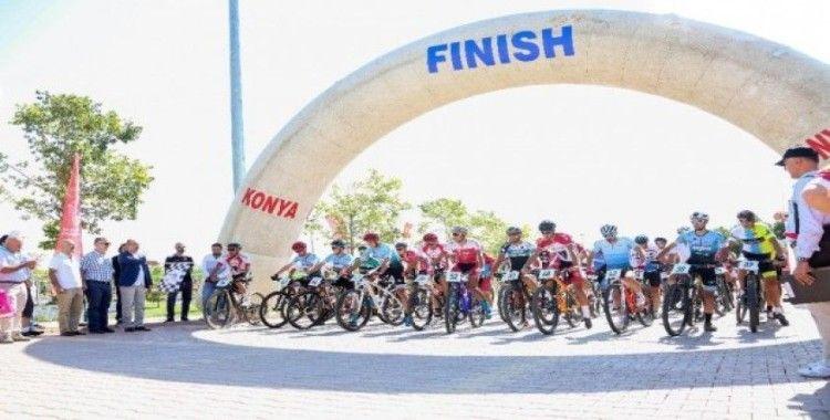 Meram Dağ Bisikleti Maraton Türkiye Şampiyonası'na ev sahipliği yaptı