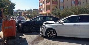 İslahiye'de trafik kazası: 1 yaralı