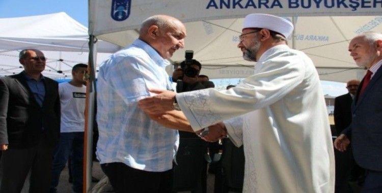 Diyanet İşleri Başkanı Erbaş'tan şehit evine ziyaret