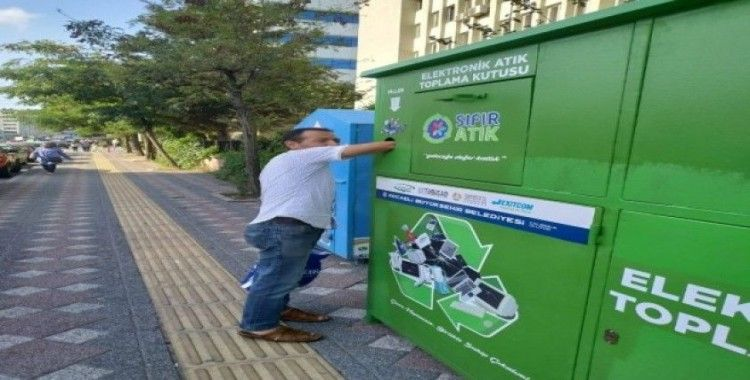 Gebze'de 50 ton atık geri dönüşüme kazandırıldı