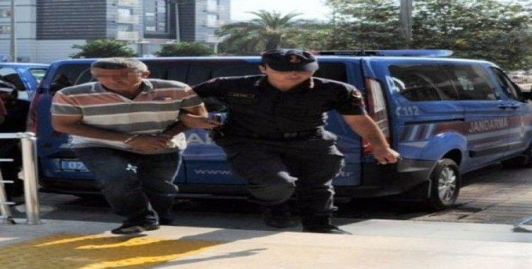 Alanya'da varil dolusu uyuşturucuyla yakalanan şüpheli tutuklandı