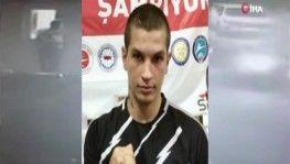 Milli kick boksçu Berke Şahin adliyeye sevk edildi