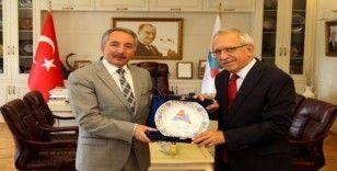 Milli Eğitim Bakanlığı Özel Eğitim ve Rehberlik Genel Müdürü Bilgili'den Rektör Karabulut'a ziyaret