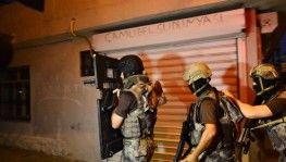 500 polisle torbacılara şafak baskını