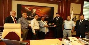 GGC'den BİK Yönetim Kurulu'nun yeni üyesi Sözen'e ziyaret