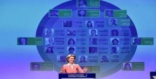 Avrupa Komisyonu Başkanı von der Leyen, taslak üye listesini açıkladı
