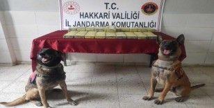 Yüksekova'da 34 kilo eroin ele geçirildi